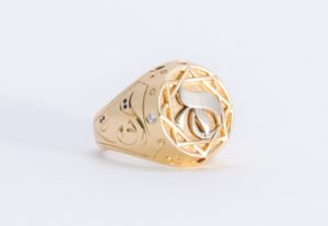 Ring Jewel - Design by Hicham Chajai with Arabic Calligraphy