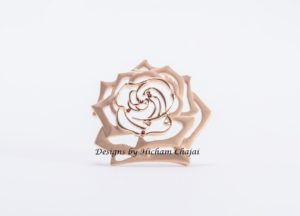 Rose Jewel - Design by Hicham Chajai with Arabic Calligraphy