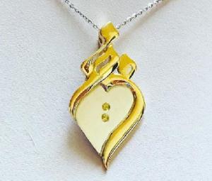 Arabic Jewel - Myriam - Gold & Sapphire