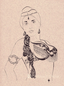 Arabic Calligraphy - Belly Dance