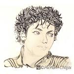Arabic Calligraphy - Michael Jackson