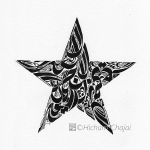 Arabic Calligraphy - Star