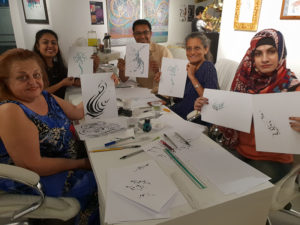 Dubai - Arabic Calligraphy Workshop by Hicham Chajai